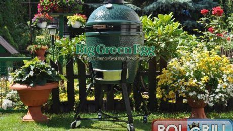 Grill Ceramiczny Big Green Egg Medium - Polgrill