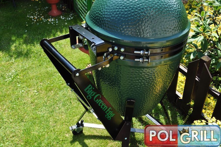 big green egg-uchwyt-polgrill
