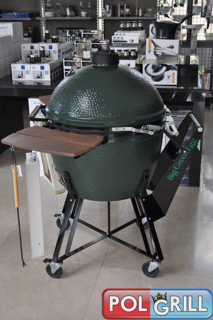 big green egg xl-wózek-polgrill
